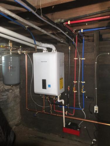 Navien Gas Boiler