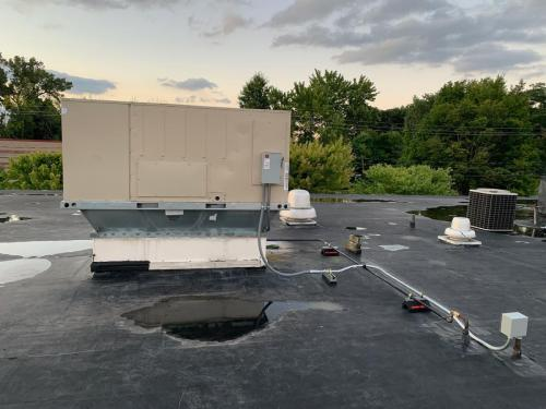 Commercial HVAC Install
