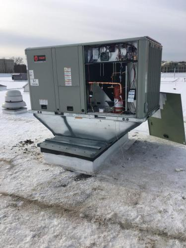 Commercial AC Install